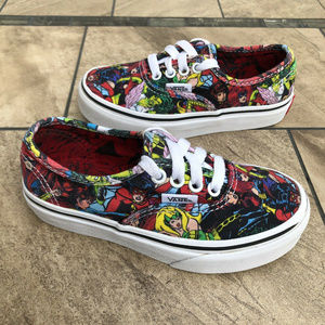 VANS Marvel Comics Kids Toddlers Shoes Size 11.5